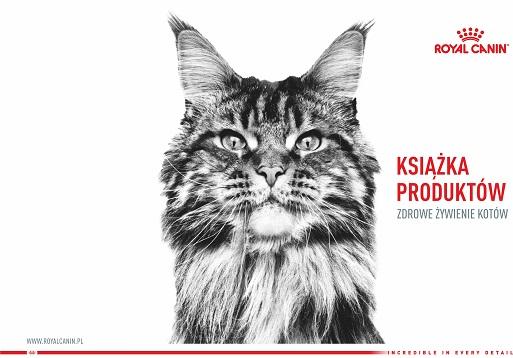 Książka produktów Kot Royal Canin
